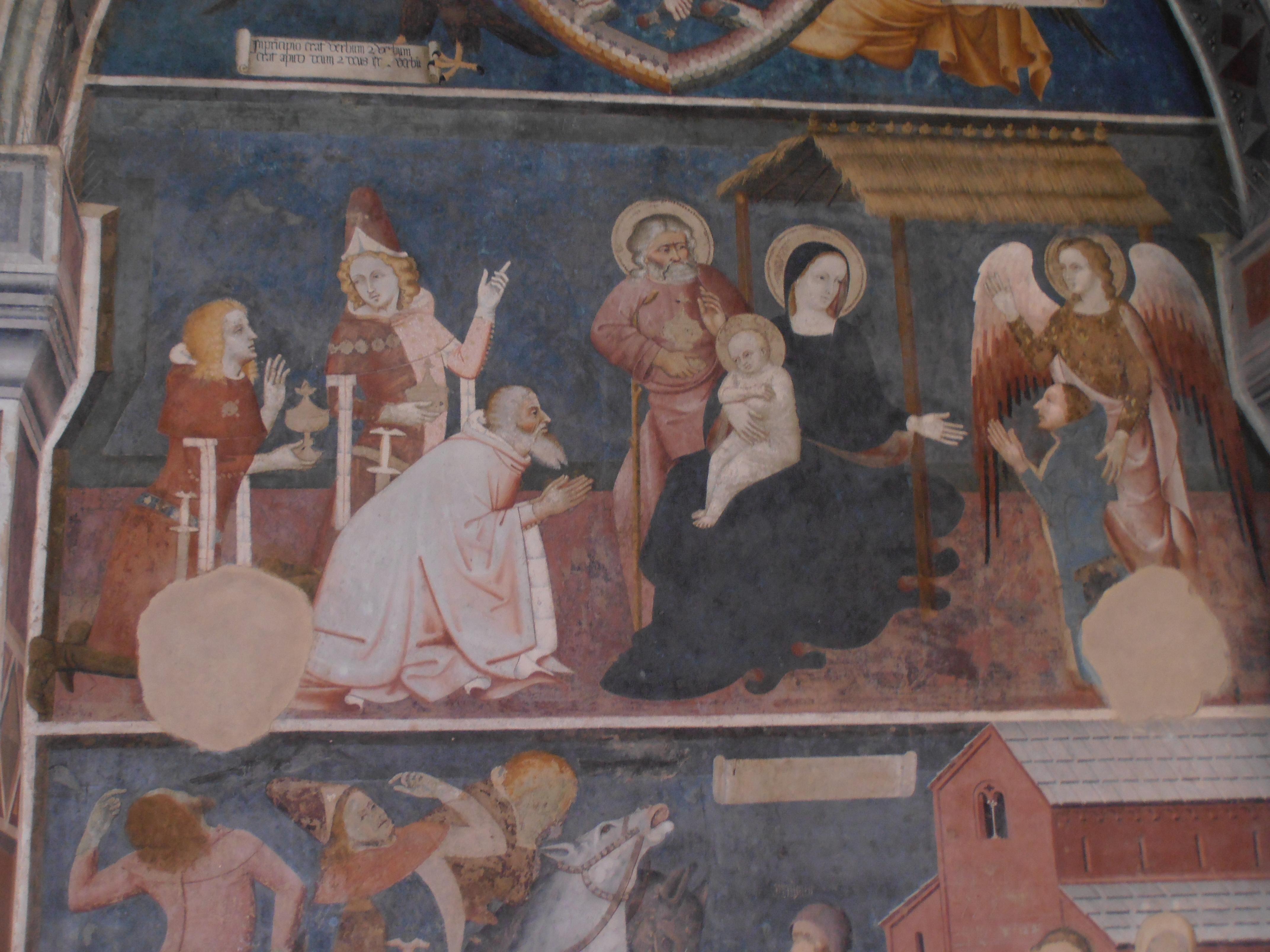 Adorazione dei magi abbazia di santa maria di vezzolano (asti)