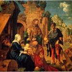 Albrecht Durer Adorazione dei Magi Galleria degli Uffizi Firenze